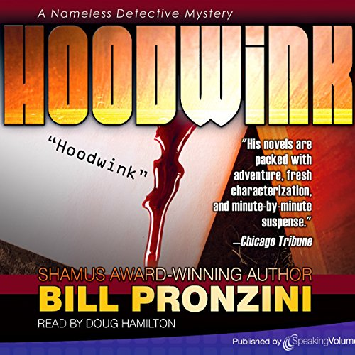 Hoodwink audiobook cover art