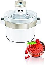 Krups Perfect Mix 9000 Sorbetière, Crèmes glacées, Sorbets, Yogourts glacés, Capacité 1,6 L, Fonctionnement automatique, E...
