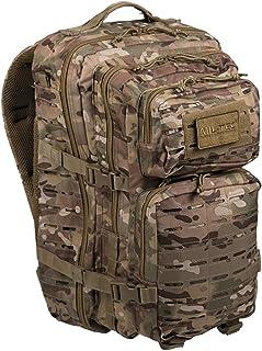 Tactical OPS MULTITARN 3 DAY Assault US Pack Molle Bag Rucksack | MILTEC USA Mochila US Assault 40L LARGE LaserCut Color: ...