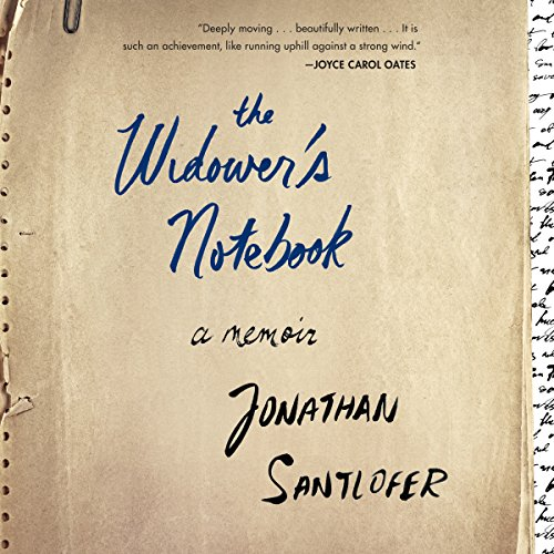 The Widower's Notebook audiobook cover art