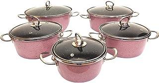 UNIWARE 5015P Super Quality Premium Enamel Cookware Set