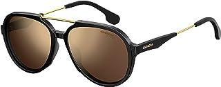 كاريرا نظارة شمسية للجنسين ، عدسات ذات لون ذهبي