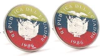 Marcos Villa Austria Coins Cufflinks Cuff Links Europe Germany Austrian Souvenir Manschettenkn/öpfe /Österreich