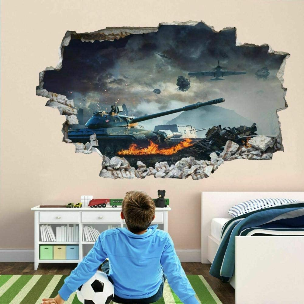 WULITOU Wall Sticker Car 3D Children Decal Ranking TOP2 Boy Max 49% OFF Art