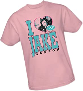 CBS I (Heart) Jake Hanson - Melrose Place Adult T-Shirt