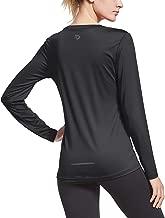 BALEAF Women's Long Sleeve T-Shirt Quick Dry Running Workout Shirts