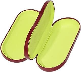 Dual Eyeglass Case Hard Shell Protective for 2 Eyeglasses