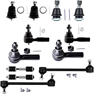 SCITOO 2PC Front Lower Ball Joints Steeringt fit 2002 2003 2004 Isuzu Axiom Rodeo