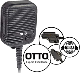 OTTO Evolution Speaker Microphone for EF Johnson Ascend ES / 51SL / 51SL ES / 5100 / 5100ES Two Way Radios