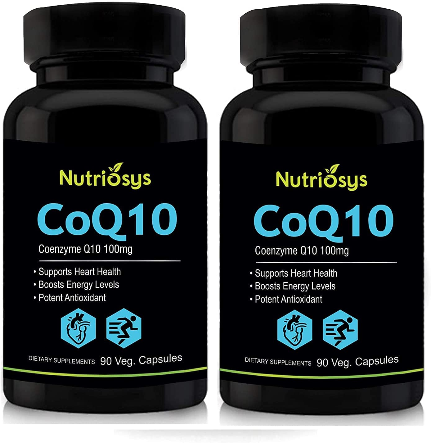 Trisha Nutriosys CoQ10 100mg 90 Veg 2 - Capsules Pack Cheap Brand Cheap Sale Venue mail order specialty store of