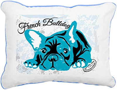 Amazon.com: Rectangular lona Throw almohada Caribe azul de ...