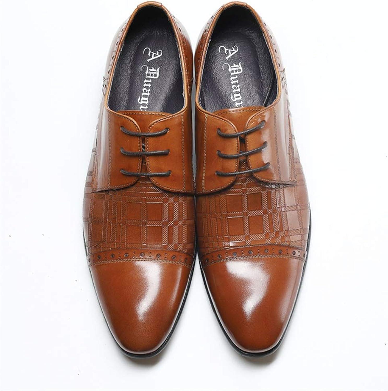 XLY Men's business leather shoes Men Comfortable Classic Modern Dress shoes Men Office Low shoes