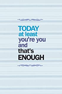 Today at Least You're You and That's Enough: Blank Journal and Musical Theater Gift