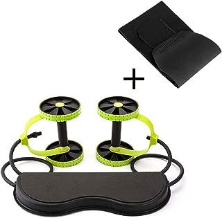 Aurora Originals Ab Roller Power Core Exercise Trainer + Body Fitness Abdominal Sauna Belt