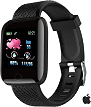 Smart Watch for Android Phones and iOS Phones Compatible iPhone Samsung, IP68 Swimming Waterproof Smartwatch Fitness Track...