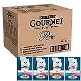 Purina Gourmet Perle húmedo Cat Food, Mini Filetes en salsa, Ocean Delicacies, 96 x 85g