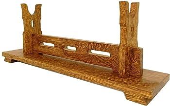 Zwaardstandhouder Katana Samurai Sword Wakizashi Sword Mount Display Stand Bracket Weapon Stand Solid Wood Zwaardstandaard...