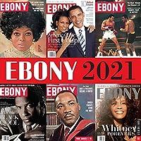 Ebony 2021 Wall Calendar