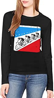 Kraftwerk Tour De France Women Long Sleeve T Shirt L Black