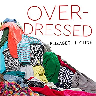 Overdressed audiobook cover art