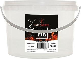Guarkernmehl, Guar , Guar Gum, E 412. 5000 cps. Molekulare Küche. Verdickungsmittel. PE - Eimer 1800g. 1,8 KG