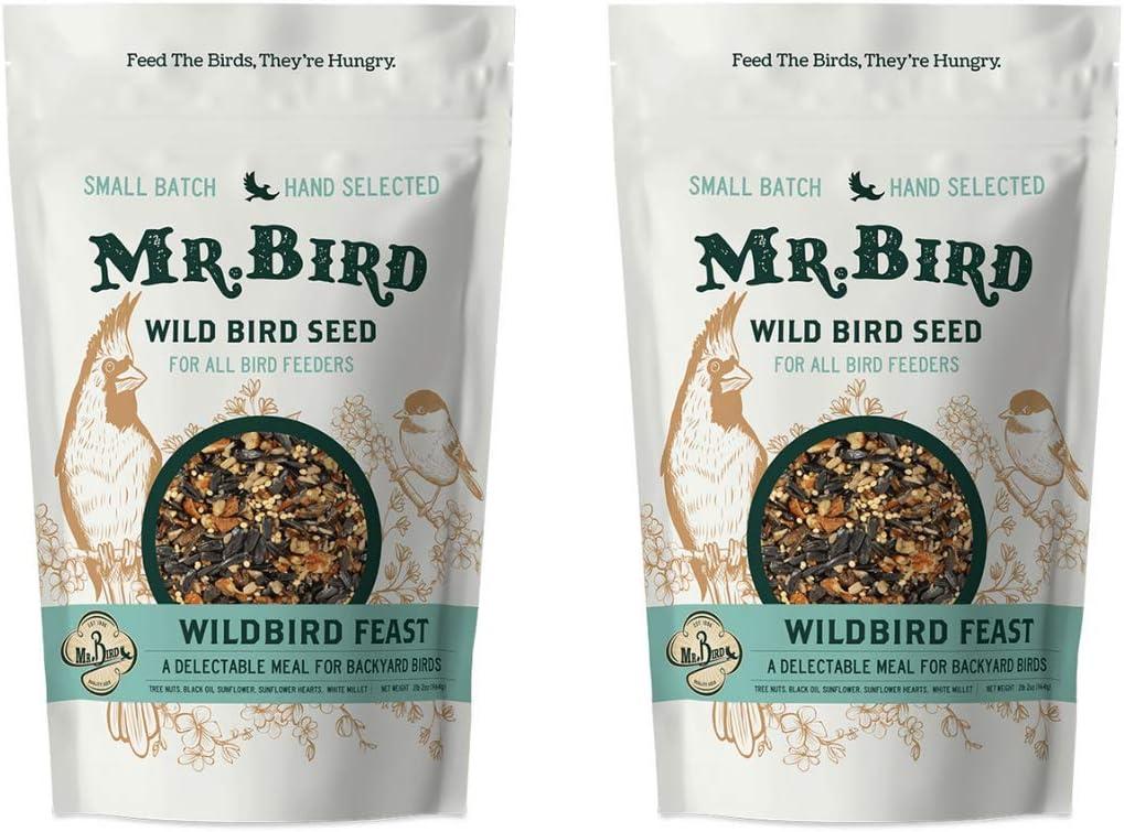 Mr. Bird WildBird 40% OFF Cheap Sale Feast Small lbs. 2 Seed Bag Loose Ranking TOP5
