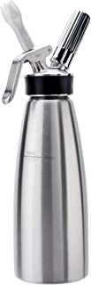 ISI Gourmet Whip-Quart, Brushed Stainless Steel