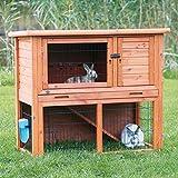 Trixie Natura - Caseta de animales pequeños con correr al aire libre