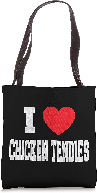 I Love Chicken Tendies Tote Bag