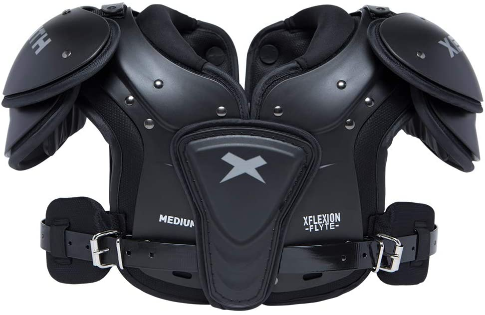 Xenith Flyte Youth Football Shoulder Pads for Kids and Juniors - All Purpose Protective Gear (X-Small) : Sports & Outdoors