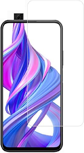 Dainty Tempered Glass Screen Guard Gorilla Protector for Honor 9x Pro Honor 9x Huawei Y9 Prime 2019 Transparent Full Screen Coverage except edges with Easy Installation Kit Pack of 1