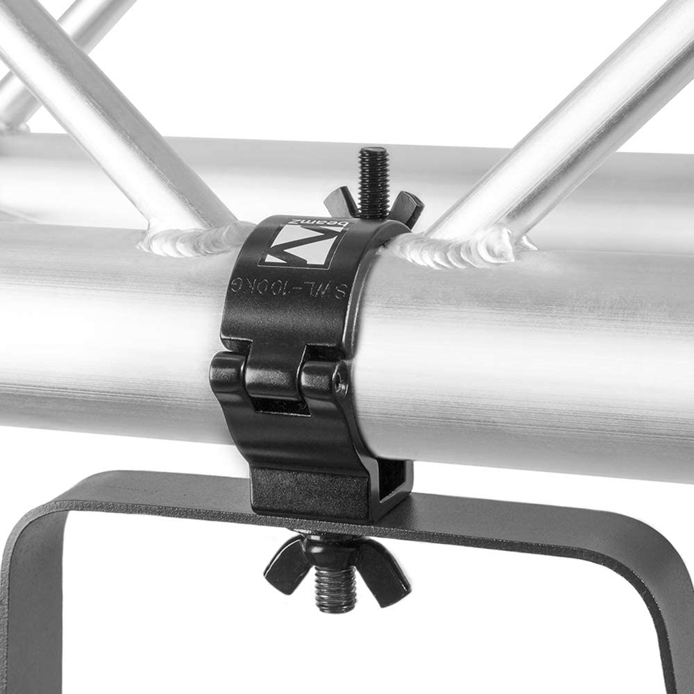beamz Half Coupler O-Clamp Truss Goalpost DJ Stage Lighting 48-51mm 100kg Aluminium