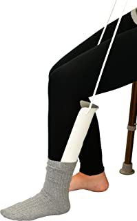 NOVA Sock & Compression Stocking Aid, Easy to Use with Adjustable Pull Up Handles
