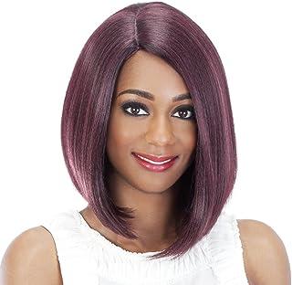 Vivica A Fox Hair Collection Shiny New Futura Hair in Color Pure Stretch Cap Wig, GMCBR/D, 4.52 Ounce