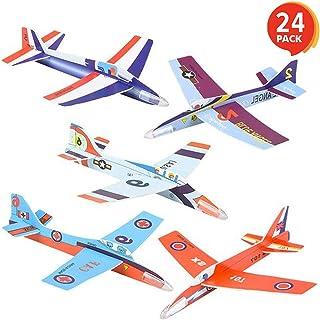 "ArtCreativity Fighter Jets 3D Puzzle Set (Pack of 24) | 7"" Various Jet Design Schemes | Airplane Theme Party Activity | Gr..."