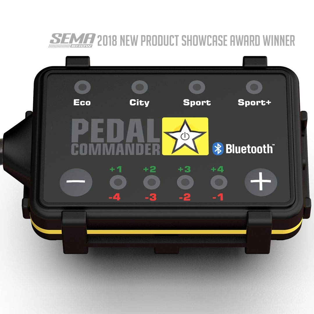 Pedal Commander Throttle Response Controller PC49 Bluetooth for Chevrolet Camaro 2016 and newer Fits All Trim Levels; LS, LT, SS, ZL1