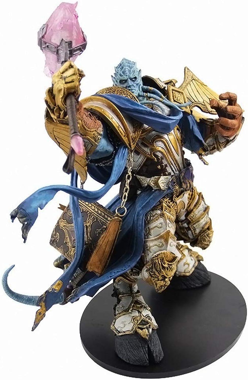 ventas directas de fábrica FFLSDR FFLSDR FFLSDR World of Warcraft Blizzard DC2 generación draenei Caballeros en Caja Ornamentos Modelo Hechos a Mano  barato y de alta calidad