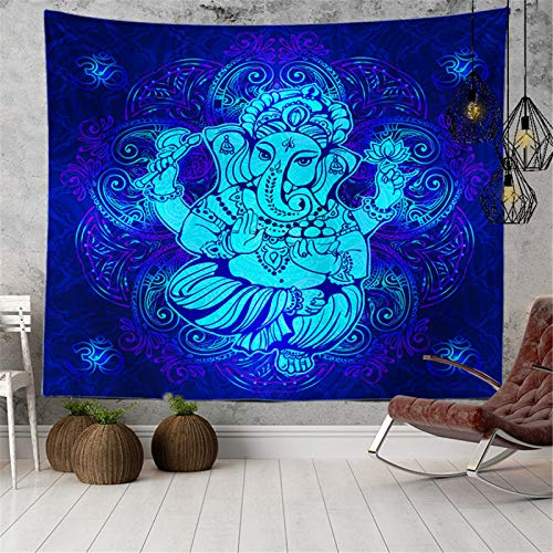Tapiz De Poliéster De Impresión 3D, Tapiz De Impresión Digital De La Serie Elefante, Tapiz Decorativo De Estilo Étnico para El Hogar, Toalla De Playa