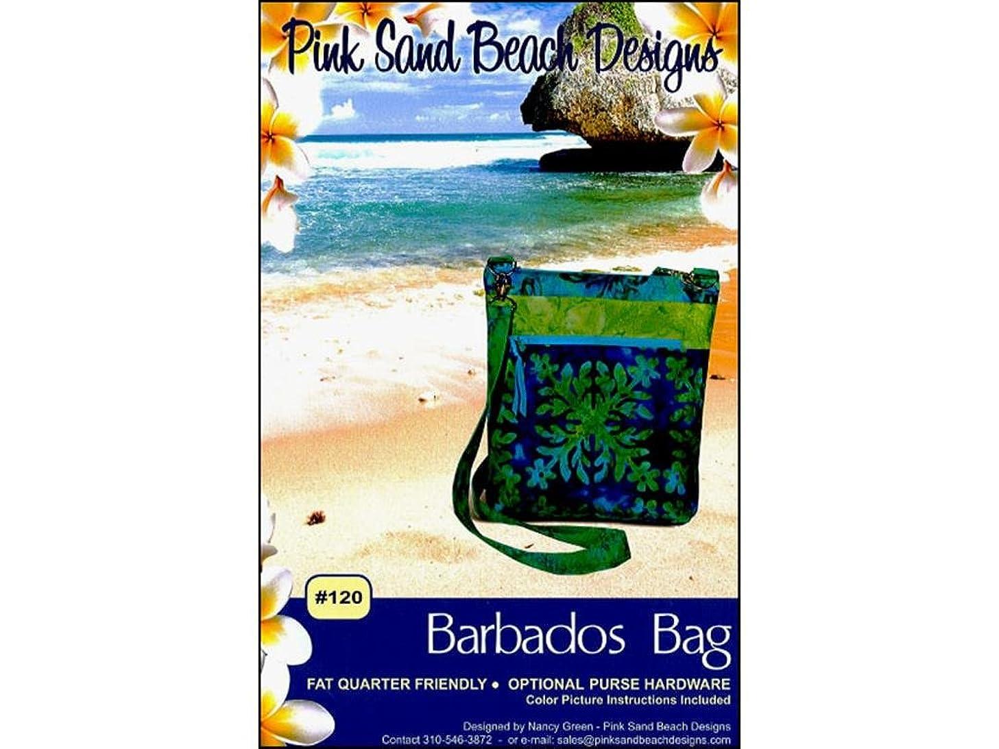 Pink Sand Beach Design Pink Sand Beach Ptrn DA Barbados Bag Pattern