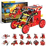 Stem Projects for Kids Ages 8-12 Solar Robots Kits 12in1 -190 Pieces DIY Science Kits Learning by Playing Toys for 8 – 12 Year Old Boys and Girls