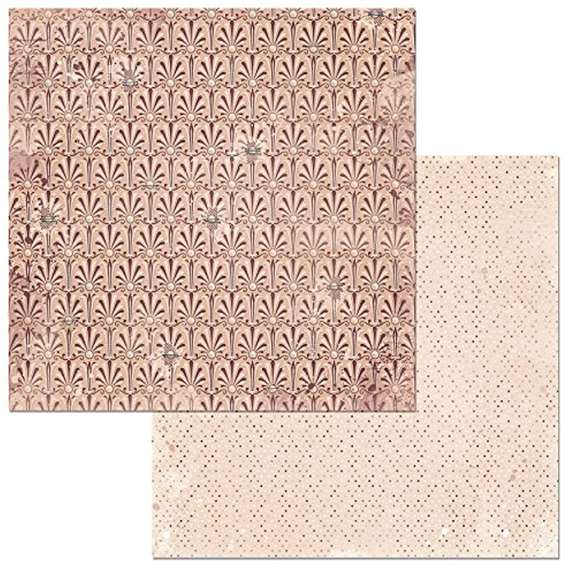 Bo Bunny Demure Patterned Paper, 25 Piece