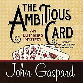 The Ambitious Card audiobook cover art