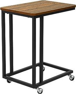 Camera da Letto,Bianca,60x25x60cm tavolino Semplice e Stretto Soggiorno per Ingresso Mltdh Consolle Tavolo da Ingresso Nordico Divano in Ferro battuto con ripiano
