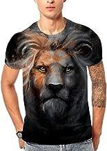 Corsion Men T Shirt Casual Summer 3D Flood Printed Short Sleeve Fashion Polo Top Blouse