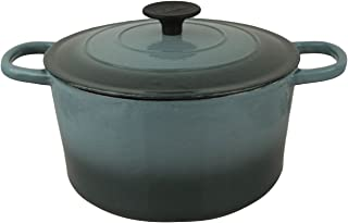 Crofton Professional Enameled Cast Iron 4 Liter Dutch Oven (Green)