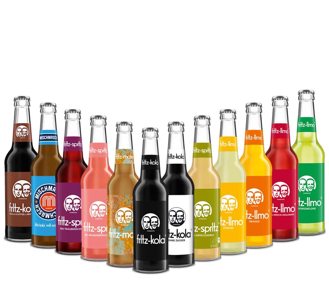Fritz Kola und Fritz Limo Mix Set 220 Flaschen a 220 ml inklusive 20,20€  MEHRWEG Pfand