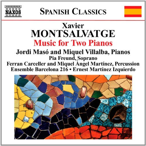 Montsalvatge: Piano Music for Two Pianos by Ensemble Barcelona 216 (2012-08-28)
