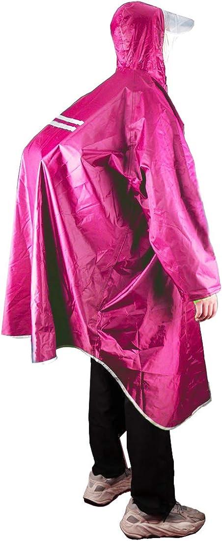 KRATARC Outdoor Rain Poncho Campi Boston Mall Cheap sale Reflective Raincoat Waterproof