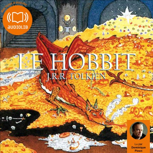 Le Hobbit audiobook cover art