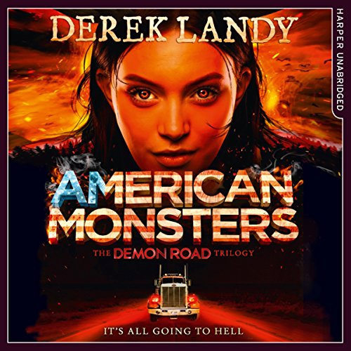 American Monsters audiobook cover art